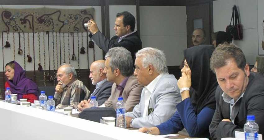 گزارش مراسم افتتاح نمایشگاه یونسکو با حضور سید محمد موسوی